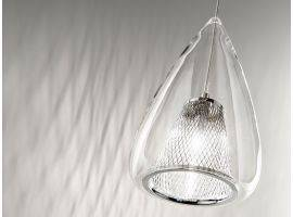 Glass hanging lamp CHESTNUT 6458