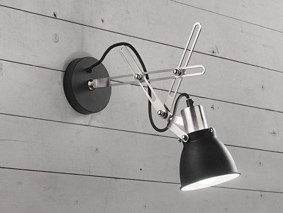 Metal wall lamp SPIDER 6430