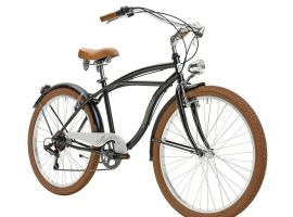 Vintage bicycle Cruiser Man