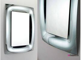 Mirror in curved glass Brezza
