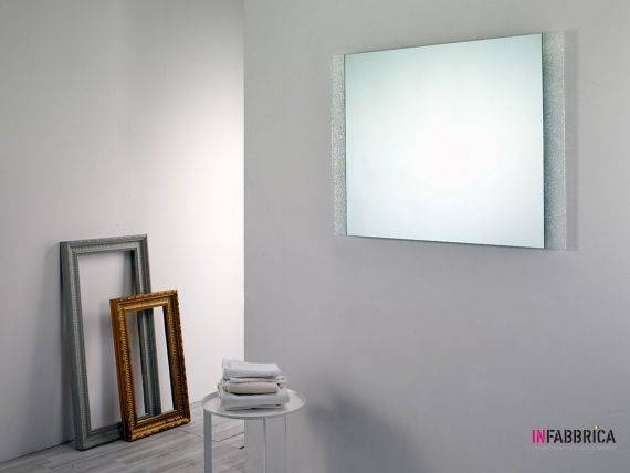 Mirror in crushed glass grit Arenaria