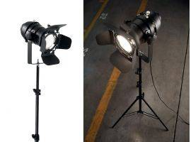 Floor lamp with tripod Movie