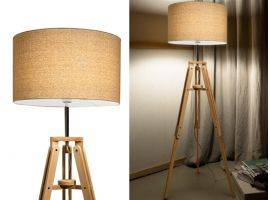Floor lamp with tripod KLIMT PT1