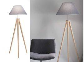 Floor lamp with tripod Tridente