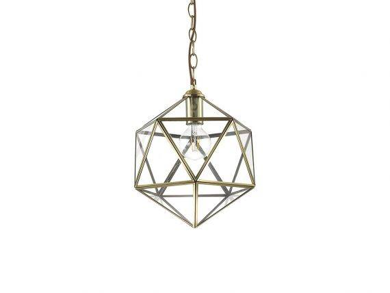 Metal Hanging Lamp Deca