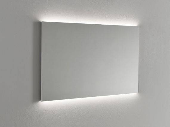 Backlit rectangular mirror Backstage