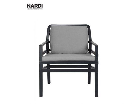 Outdoor Armchair ANTHRACITE Aria