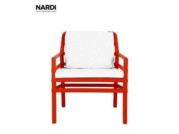 Outdoor Armchair RED Aria