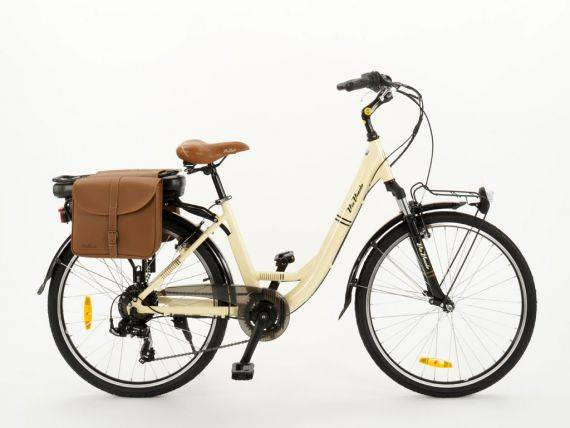 Electric Bicycle for Woman with pedal assist Via Veneto E62
