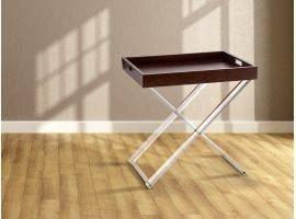 Foldable coffee table with tray Marcel