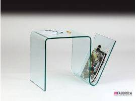 Glass coffee table Virgoletta