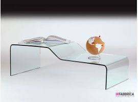 Glass coffee table Inchino