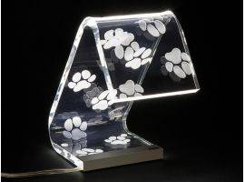 C-LED Acrylic crystal Design table lamp