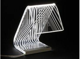 Acrylic crystal Design table lamp C-LED Static