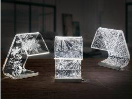 Acrylic crystal Design table lamp C-LED Pins
