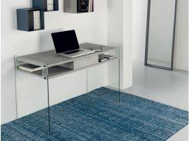 Glass desk for computer Space
