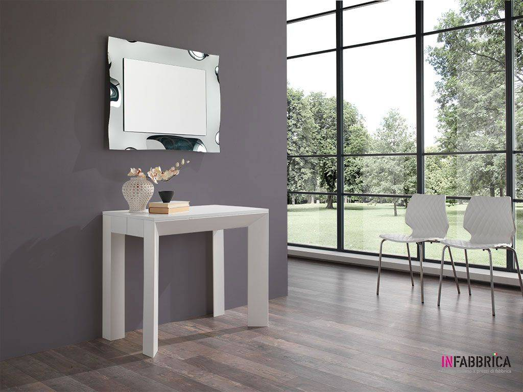 Tavolo Consolle Magic Allungabile.Tavolo Consolle Allungabile Magic Delta 47x90 297x90 Cm