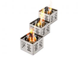 Olympic table fireplaces' set