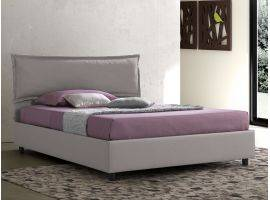 Upholstered bed with fixed base Antonietta