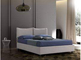 Upholstered bed with fixed base Carolina