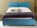 Ribbony upholstered double bed