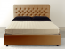 Gem upholstered double bed