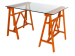 Wooden table stands Giotto
