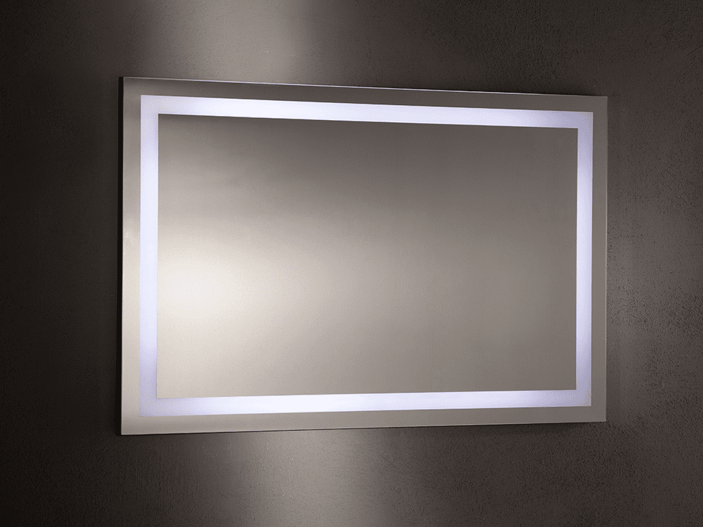Specchio Bagno Led 120.Mirror Led For Bathroom Acquario