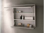 Box mirror for bathroom Fenice