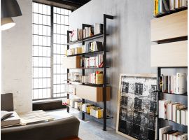 Wall Bookcase Giostra L