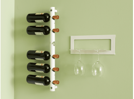 Wall Bottle rack Totem