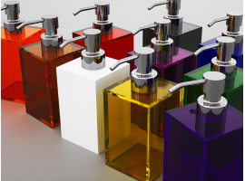 Soap dispenser Quadro