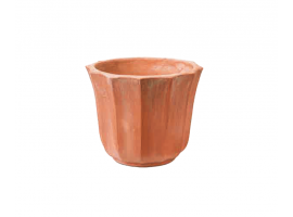 Pot in the shape of lily