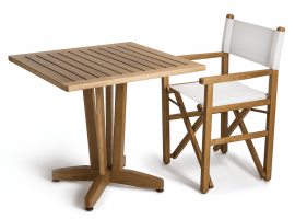 Wooden garden table Ercole