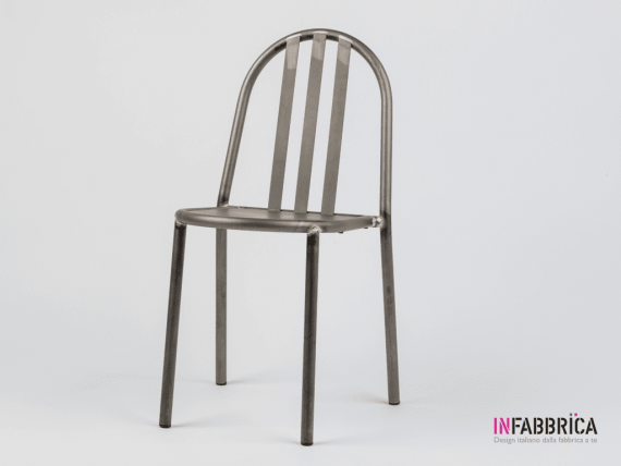 Industrial Style Chair Mallet Stevens