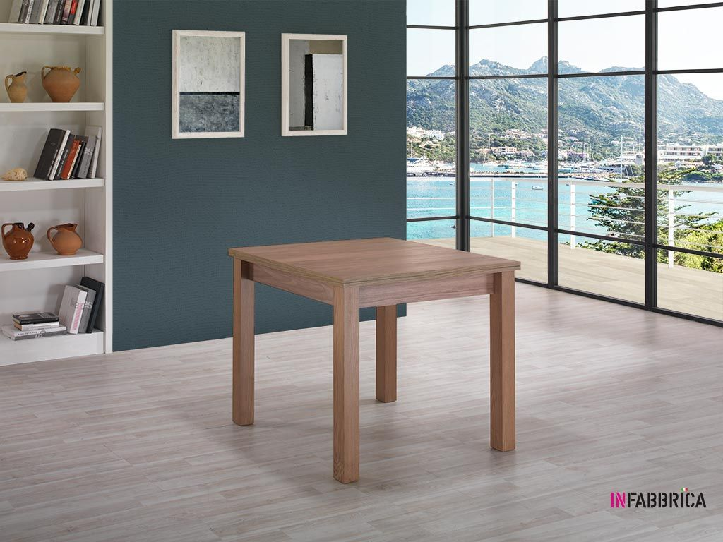 Table Carree Extensible Open
