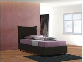 Upholstered 120 bed with fixed base Antonietta
