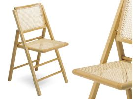 Folding wooden chair 105