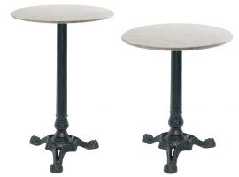 Cast Iron Table Bistrot Round