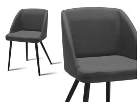 Upholstered living room armchair Tone