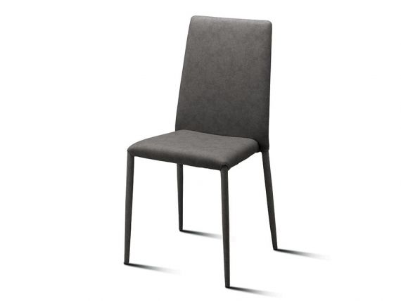Chair covered in eco-leather Crash