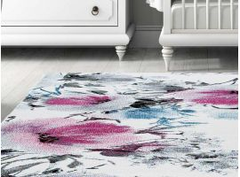 Coloured carpet Floral
