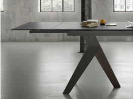 Extendible ceramic table Fly