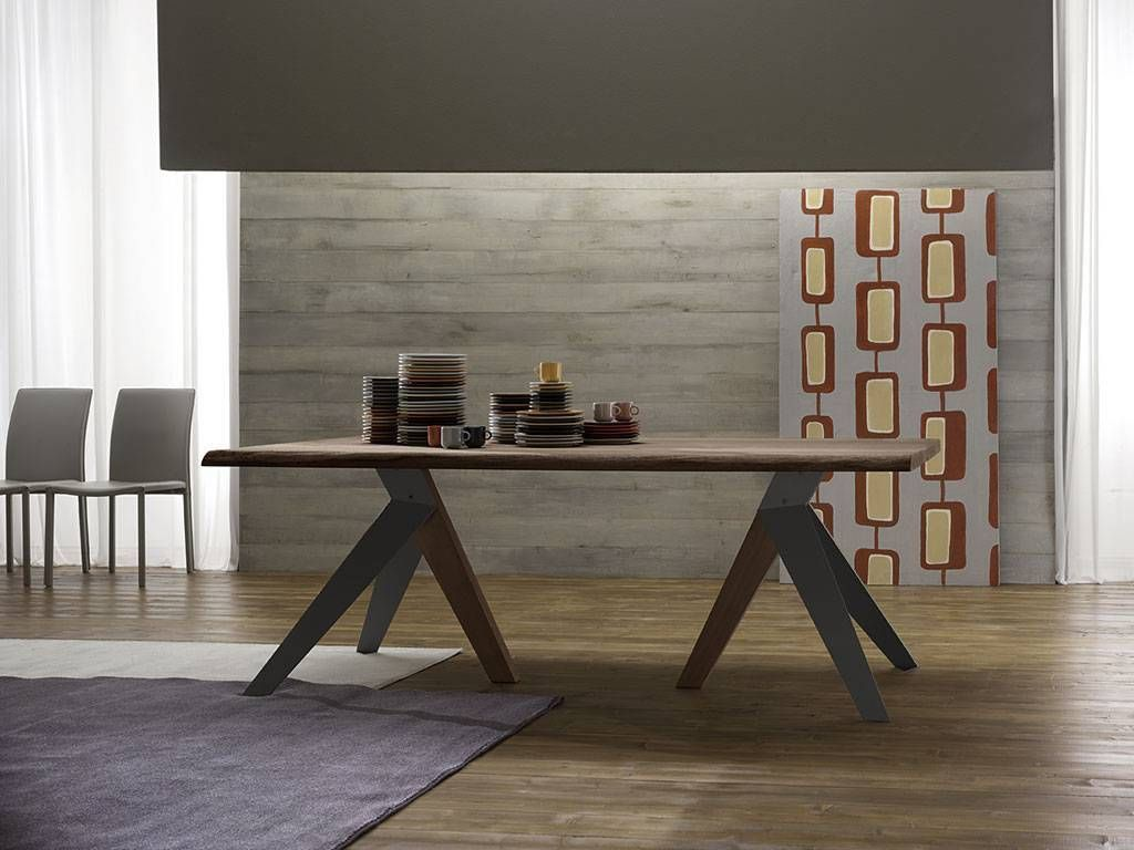Oak Wood Table Dining Room Fly