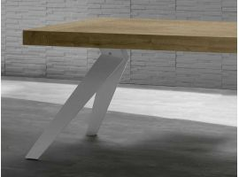 Extendible table in wood Remedy