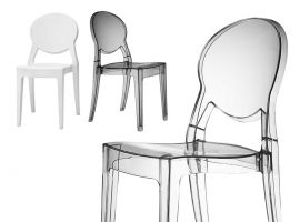 Transparenter Stuhl Igloo Chair