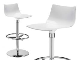 Tabouret de bar pivotant Day twist