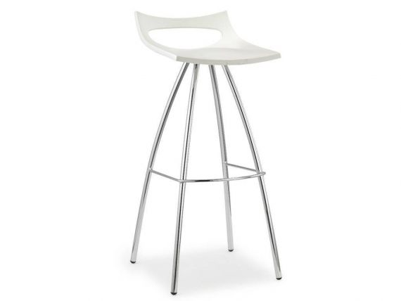 Stool in polypropylene Diablito 80
