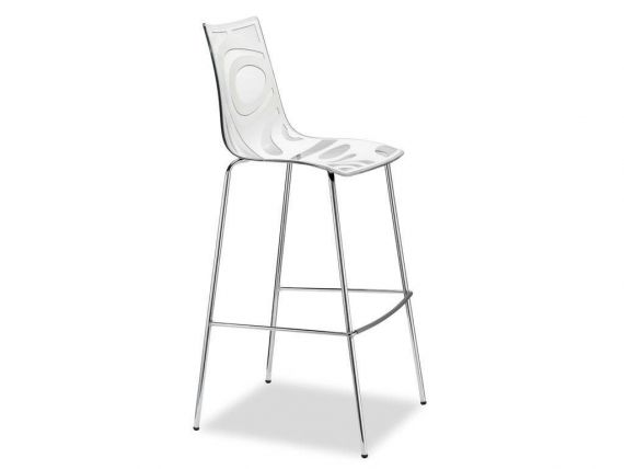 Technopolymer stool Wave 80