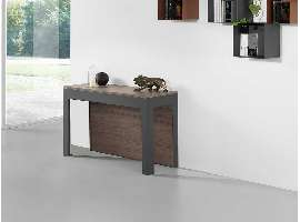 Extendible table–consolle in metal Ulisse BIG